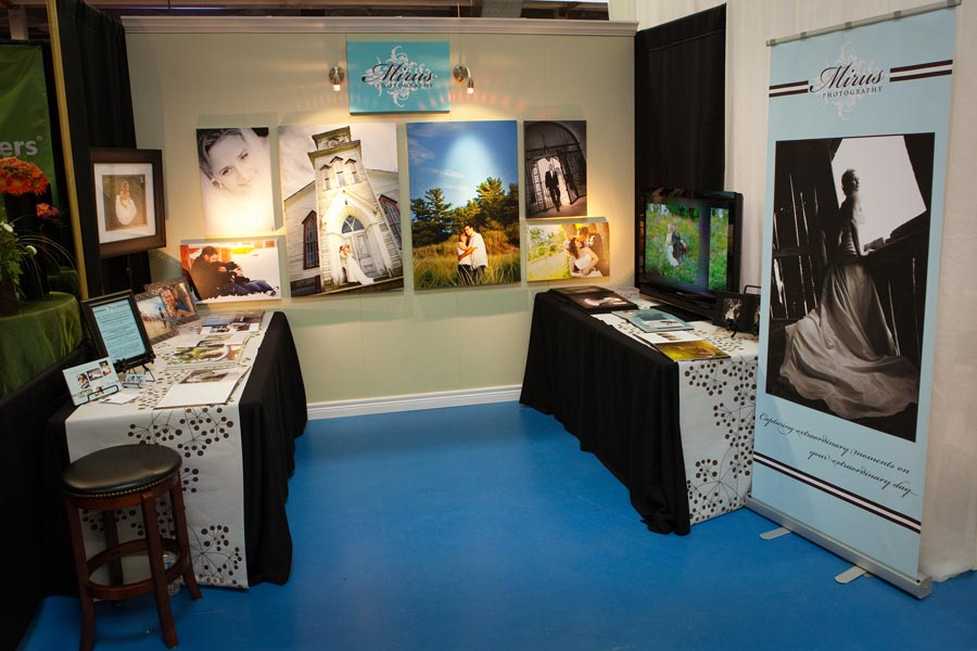 London Bridal Expo Booth