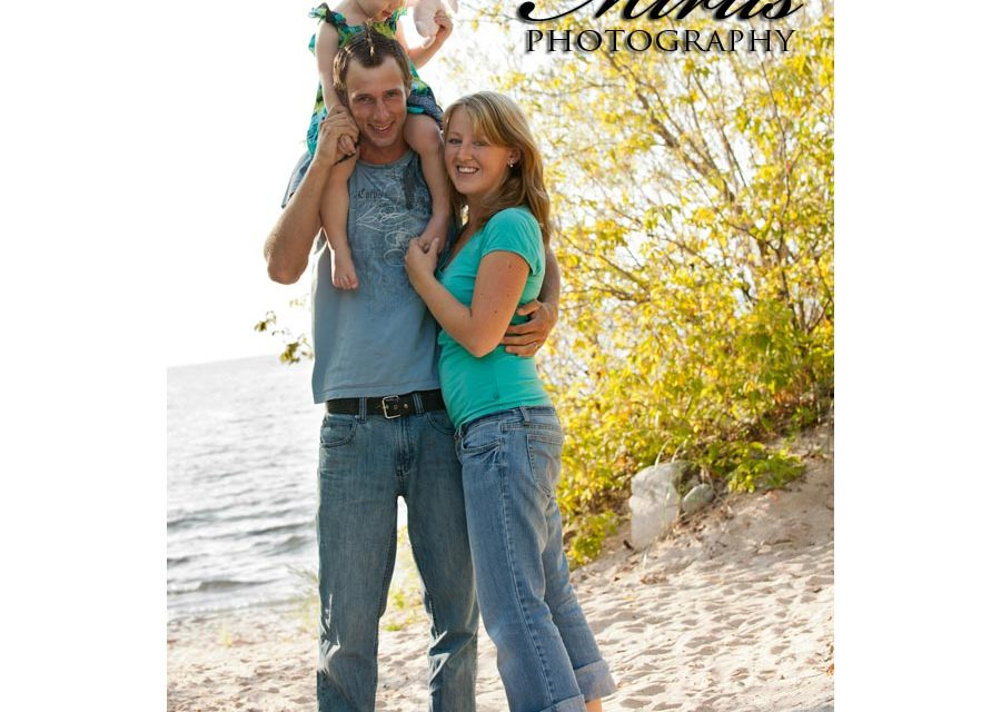 Alina, Tyler and Layla Family Session and Aftershoot