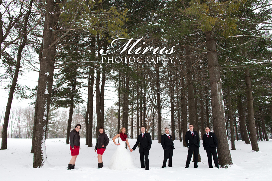 Marsha and Matt's Beautiful Winter Wedding! (February 8, 2014)