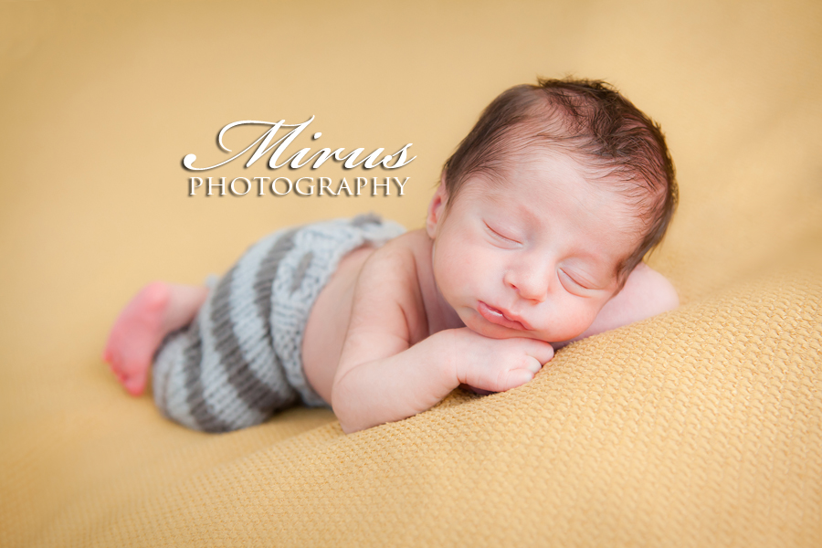 Niagara falls newborn photography with baby milan mirus