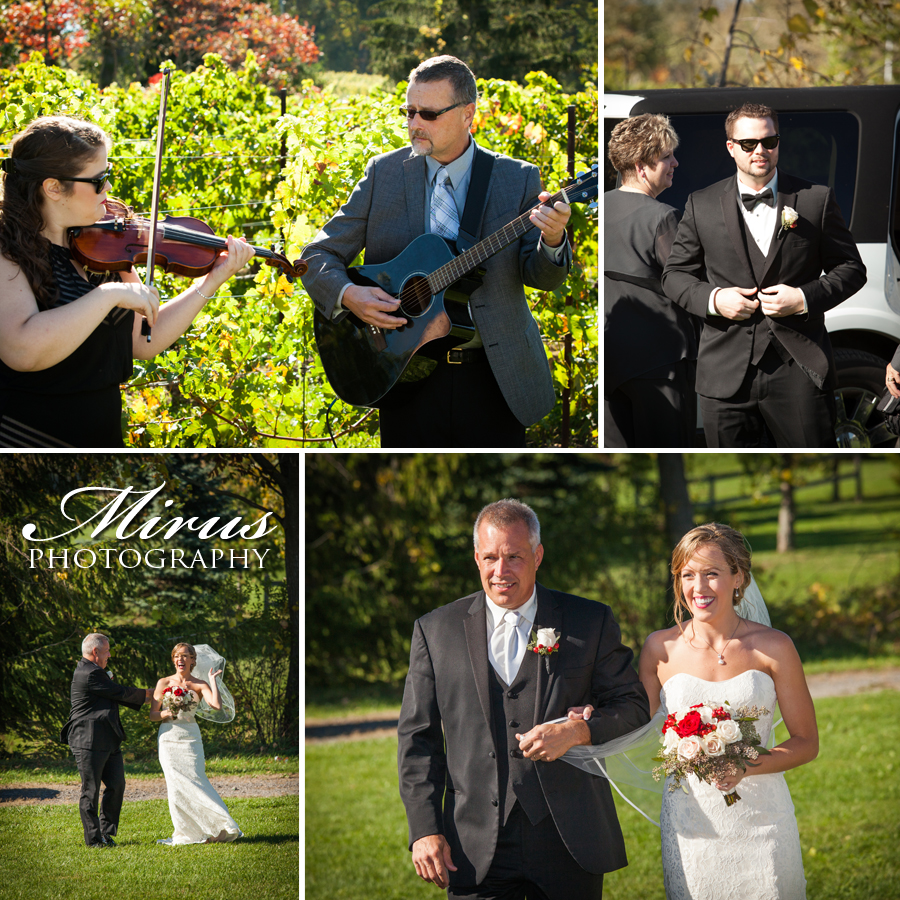 Tosca and trevor wedding