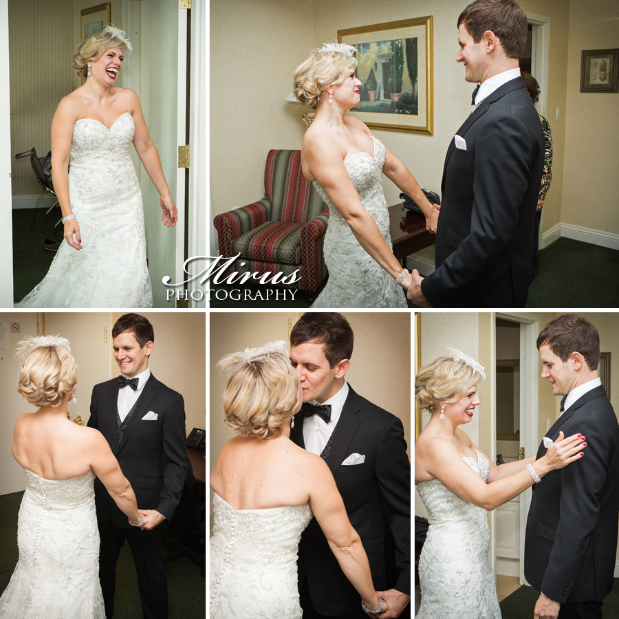 Niagara Region Wedding Photography First Look