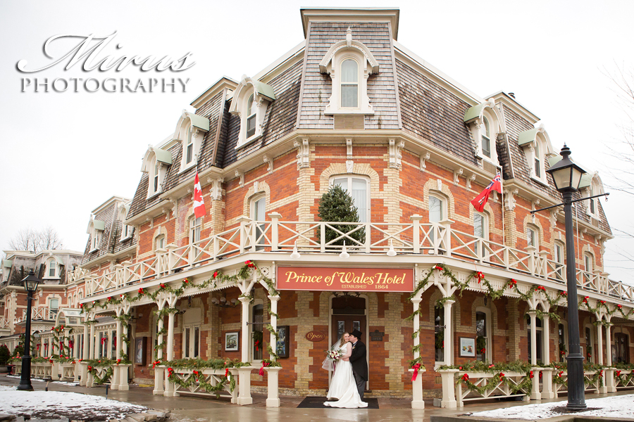 Niagara on the Lake Wedding – Prince of Wales