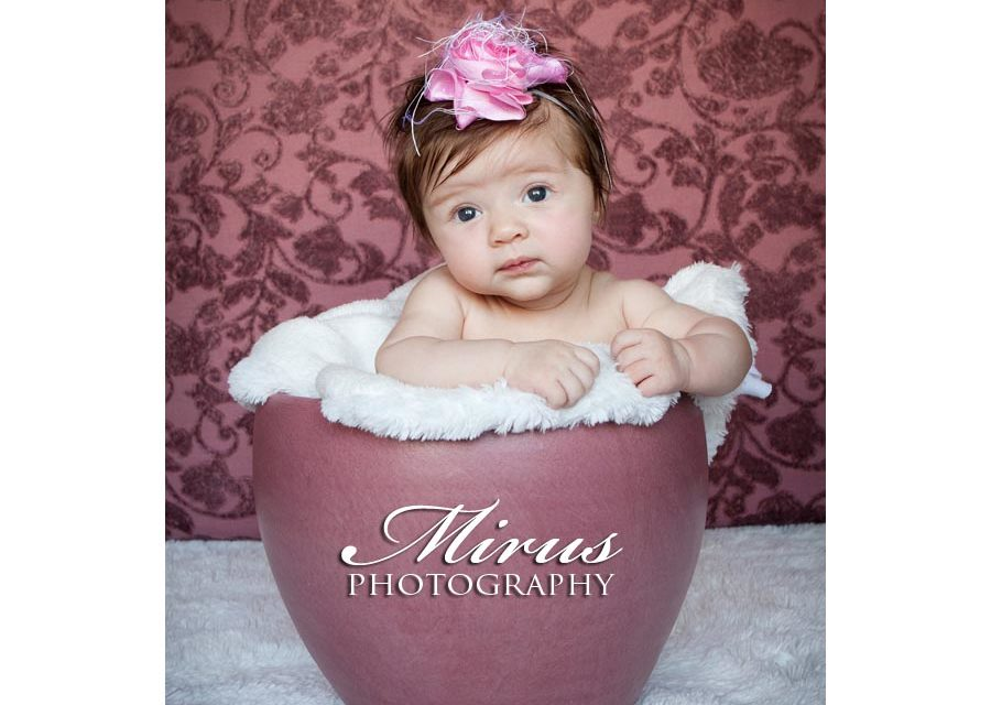 Beautiful Baby Blaire at two months!