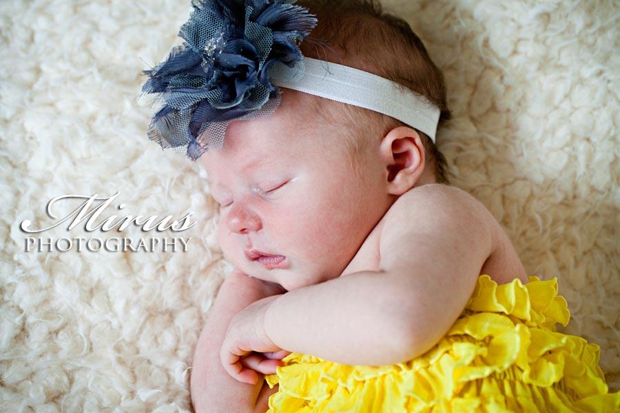 Beautiful Baby Caroline at Ten Days Old