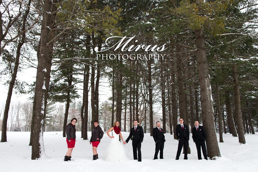 Marsha and Matt's Beautiful Winter Wedding! (February 8, 2014)